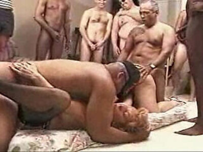 creampie gangbang party swingers  porn video