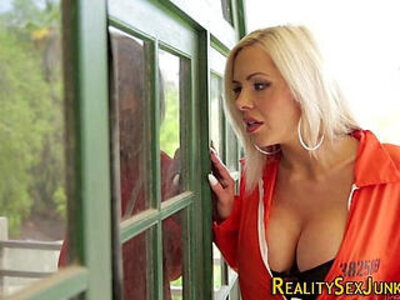 blonde  breasts   porn video