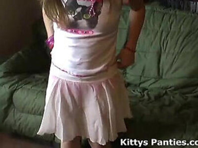 cute  petite  skirt   porn video