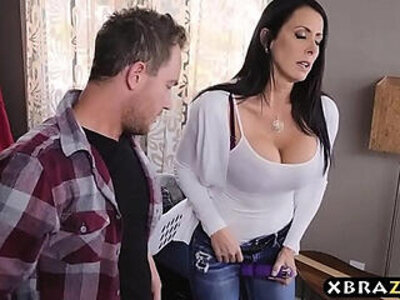 big tits  daddy  stepmom  stepson   porn video