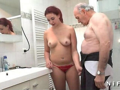 banged  chubby  french  old man   porn video