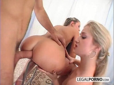 3some  ass fucking  ass to mouth   porn video
