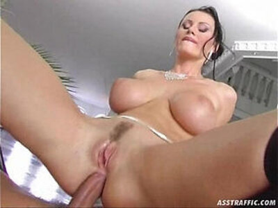 anal ass big tits double  porn video