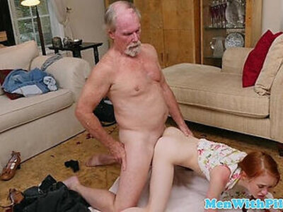 cock  old man  petite  readhead   porn video