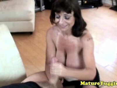 busty cougar  porn video
