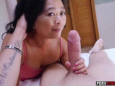 asian  cougar  stepmom  stepson   porn video