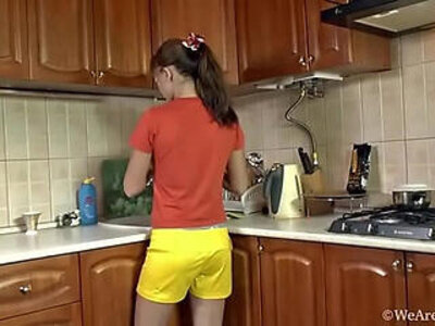 escort  kitchen   porn video