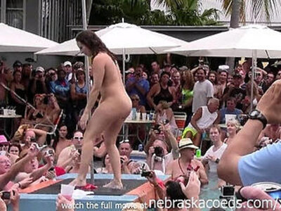 innocent  naked  pool  striptease   porn video