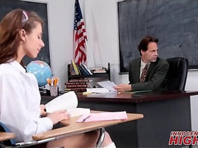 high school  skinny  teacher   porn video