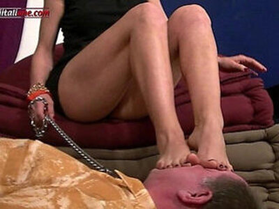 first time foot fetish mature  porn video